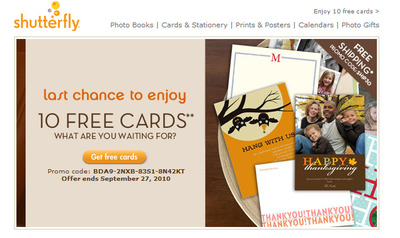 shutterfly-10-free-cards